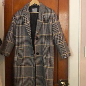 Asos Multi Color Trench Coat